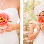 Origineel idee: Eén enkele bloem in plaats van een bruidsboeket