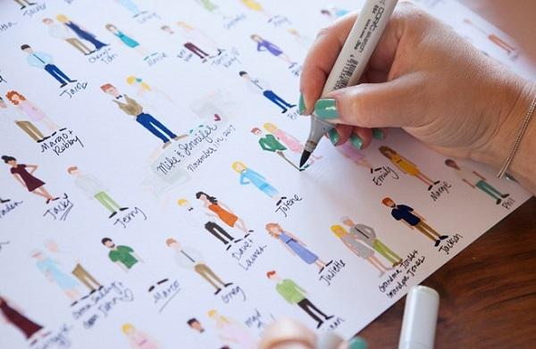 Populair 7 Ideeën voor een origineel gastenboek - Bruiloft Inspiratie @AL77