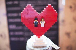 Lego taarttopper