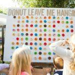Gaaf idee: Donut muur tijdens de receptie