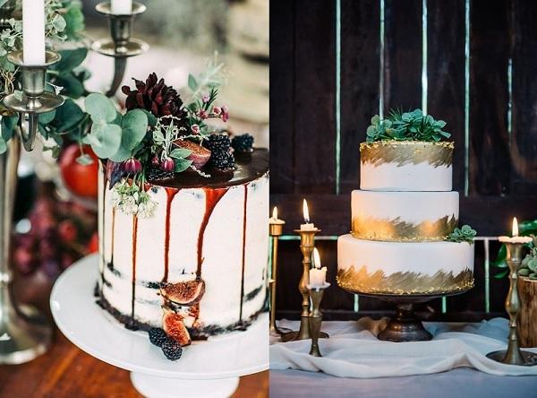 De mooiste bruidstaarten voor een herfst bruiloft