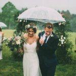 Hoe kun je trouwfoto´s laten maken als het regent op jullie bruiloft?