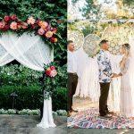 3 Adembenemend mooie backdrops voor jullie ceremonie