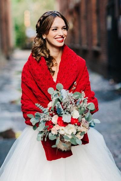 Winter bruid