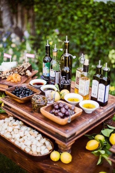 Tapas olijven bar