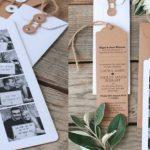 Gaaf idee voor de trouwkaarten: Photobooth fotostrip