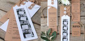 Photobooth trouwkaart
