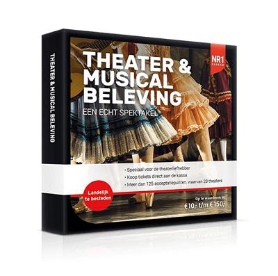 Theater & musical cadeaubonnen