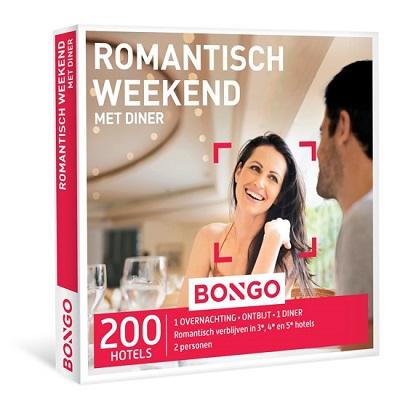 Romantisch weekend weg cadeaubon
