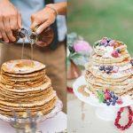 Op z´n Hollands met een pannenkoeken bruidstaart