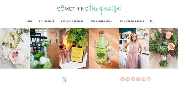 Amerikaanse trouwblog Something Turquoise