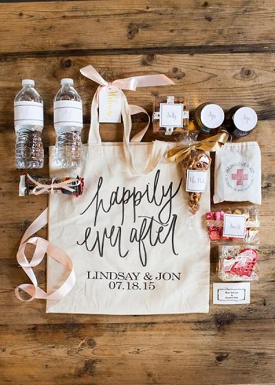 Bruiloft goodiebag