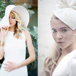 Bruiden met hoeden