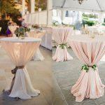 3 Manieren om de statafels op jullie bruiloft te decoreren