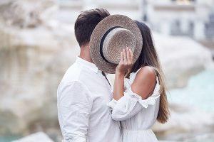 Fotoshoot tijdens huwelijksreis in Rome