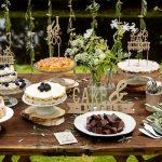 Gaaf idee: Taartenbuffet in plaats van een bruidstaart
