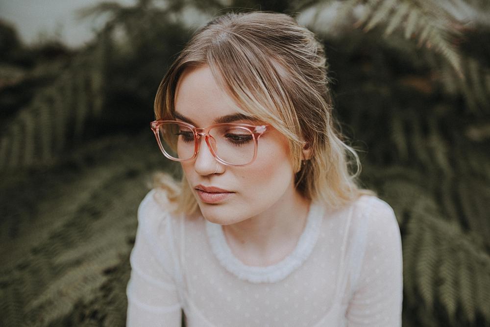 Bruid met bril
