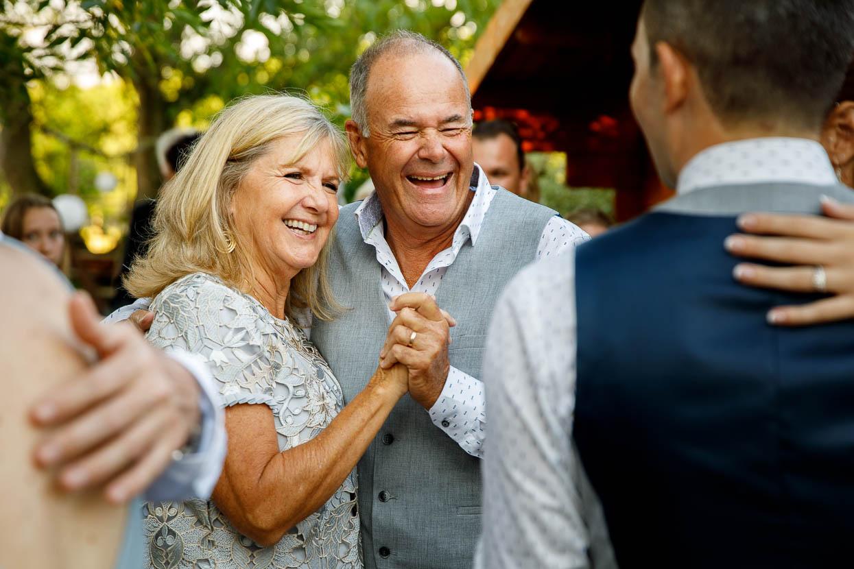 Ouders op bruiloft