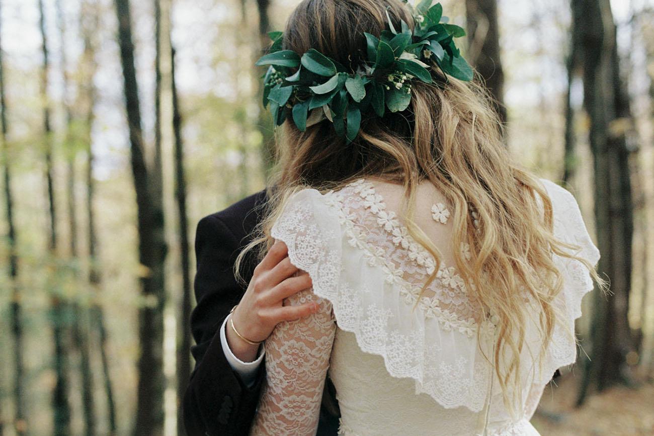 Bruidskapsels met lang haar