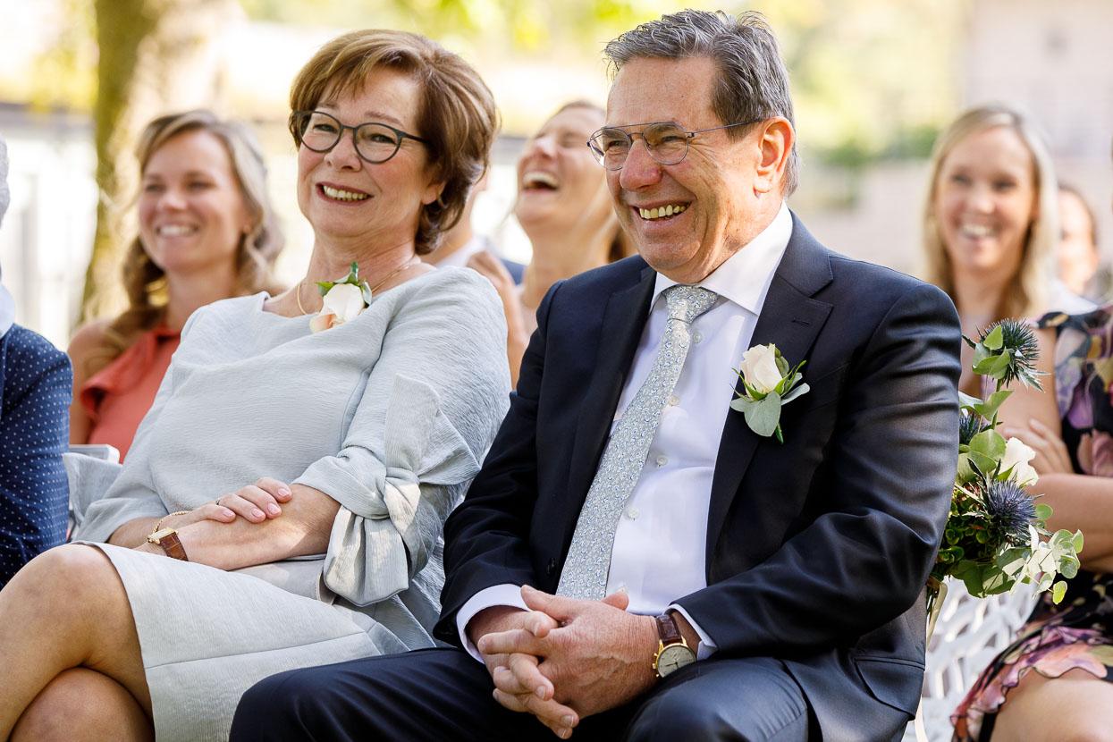 Ouders van de bruid